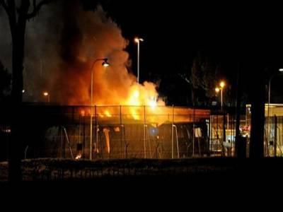 آسٹریلیا میں سیاسی پناہ کیلئےدرخواست دینے والے تارکین وطن نےامیگریشن سنٹر کی عمارت کو آگ لگادی۔