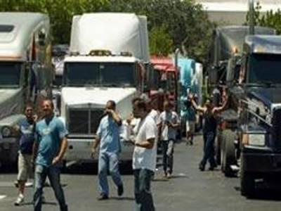 چین میں پٹرولیم مصنوعات کی قیمتوں میں اضافے کے خلاف ٹرک ڈرایئوروں نے دوسرے روزبھی احتجاج کیا
