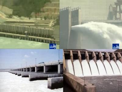 ملک بھر کے دریاؤں میں پانی کی آمد کم ہوگئی، تربیلا ڈیم میں پانی کی سطح ڈیڈ لیول سے صرف پندرہ فٹ بلند ہے
