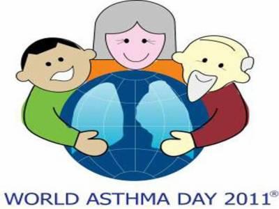 پاکستان سمیت دنیا بھرمیں دمہ سے آگاہی کا دن آج منایا جا رہا ہے، پاکستان میں پچیس لاکھ افراد اس مرض کا شکار ہیں ۔