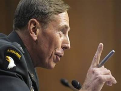 پاکستان کو دہشتگردی کیخلاف جنگ میں مزید اقدامات کرنا ہوں گے۔ امریکی جنرل ڈیوڈ پیٹریاس