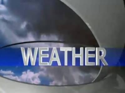 آئندہ چوبیس گھنٹوں کے دوران ملک کےاکثر علاقوں میں موسم خشک اور گرم رہے گا تاہم آج شام یا رات چند مقامات پر ہلکی بارش کا امکان ہے ۔ محکمہ موسمیات