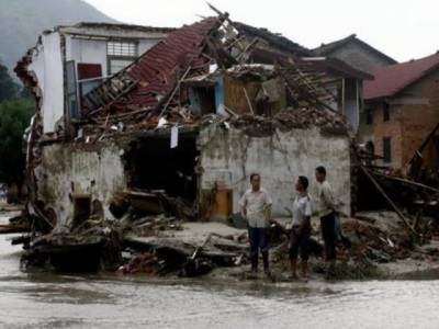 چین میں لینڈ سلائیڈنگ اوربارشوں کے باعث مزید اٹھارہ افراد ہلاک ۔