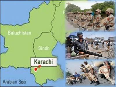 کراچی میں امن وامان کی صورتحال بہتر بنانے کے لئے ضلع شرقی کےحساس علاقوں میں دو سو کمانڈوز اورایک ہزار پولیس اہلکار تعینات کردیئے گئے ۔