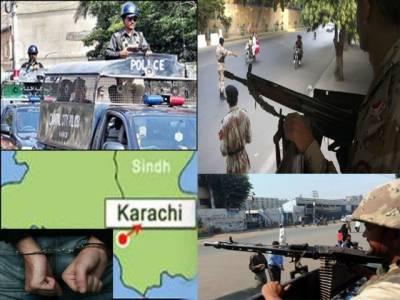 کراچی، ملیر کے متاثرہ علاقوں میں علی الصبح رینجرزاور پولیس نے سرچ آپریشن، دس افراد کو حراست میں لے لیا۔