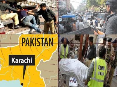 کراچی میں پرتشدد واقعات کا سلسلہ جاری ہے پیرکے روز چار افراد کوقتل کردیاگیا