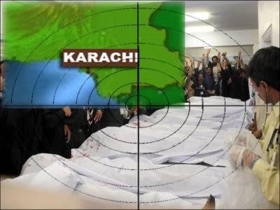 کراچی میں ٹارگٹ کلنگ، آج مزید تین افراد قتل۔