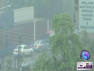 پنجاب کے مختلف شہروں میں رات گئے سے بارش کا سلسلہ جاری، لاہور میں اب تک چالیس ملی میٹر بارش ریکارڈ کی گئی ۔