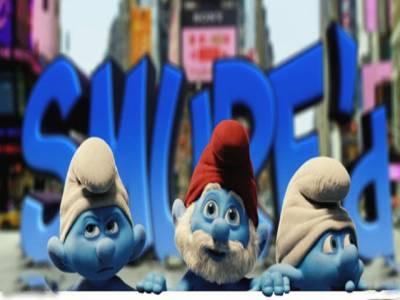 نیلے رنگ کے بونوں کی انسانی دنیا میں آمد پر بنائی گئی ہالی ووڈ فلم دی سمرفس نے اب تک چھ کروڑ ڈالر کا ریکارڈ بزنس کیا ہے۔