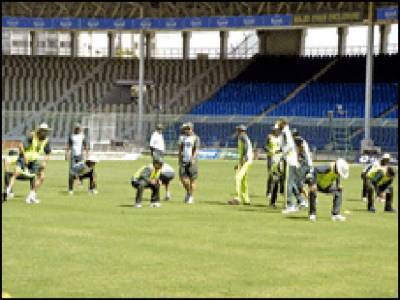 دورہ زمبابوے کے لیے پاکستانی کرکٹ ٹیم نے پریکٹس کا آغاز کردیا جو اکیس اگست تک جاری رہے گا۔