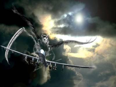شمالی وزیرستان، امریکی جاسوس طیارے کا میزائل حملہ، کم ازکم چارافراد ہلاک ۔