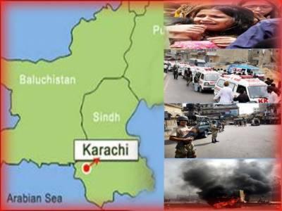 کراچی ٹارگٹ کلنگ کا سلسلہ جاری، ہلاک ہونے والوں کی تعداد چار، ایک شخص زخمی حالت میں لیاری ندی سے برامد ۔