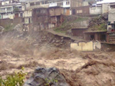کوہستان میں طوفانی بارشوں سےہلاک ہونے والوں کی تعداد د پینتیس ہوگئی،پچیس افراد اب بھی لاپتہ ہیں، سیلابی ریلے سے اسی مکان بھی تباہ ہوئے
