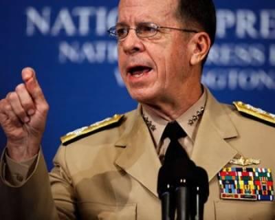 آئی ایس آئی حقانی گروپ کو افغانستان میں اپنے مقاصد کے لئے استعمال کر رہی ہے امریکی فوج کے سربراہ ایڈمرل مائیک مولن