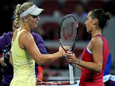 چائنہ اوپن ٹینس ٹورنامنٹ، خواتین کی عالمی نمبر ایک ڈنمارک کی کیرولین وُزنیاکی کو کوارٹرفائنل میں اپ سیٹ شکست ۔