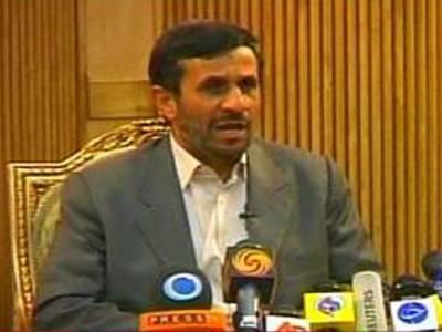 ایران پرحملےکےخطرناک نتائج برآمد ہوں گے،اسرائیل کی بربادی قریب ہے۔ احمدی نژاد