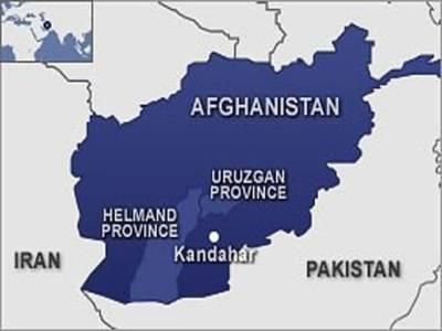 شمال مغربی افغانستان میںسڑک کنارے نصب بم پھٹنے سےدو پولیس اہلکاروں سمیت دس افراد ہلاک ہو گئے