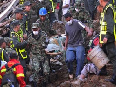 برازیل میں مٹی کا تودے گرنے سے آٹھ افراد ہلاک جبکہ متعدد مکانات منہدم ہوگئے۔