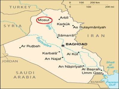 عراق کے شہر موصل میں کاربم دھماکے میں آٹھ افراد ہلاک جبکہ چار شدید زخمی ہوگئے۔
