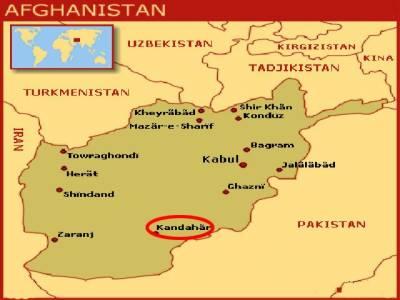 افغانستان کے جنوبی شہر قندھار میں کار بم دھماکے میں سات افراد ہلاک جبکہ انیس زخمی ہوگئے