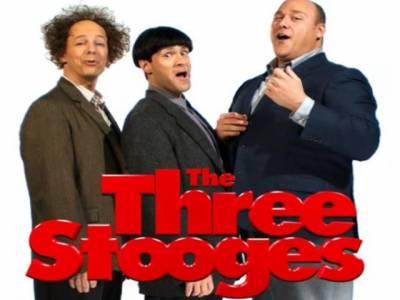 ہالی ووڈ کی فلم دی تھری سٹوجز کے تین بے وقوف دوست فلم بینوں کے چہروں پر مسکراہٹیں بکھیرنے کل پردہ سکرین پر جلوہ گرہورہے ہیں۔