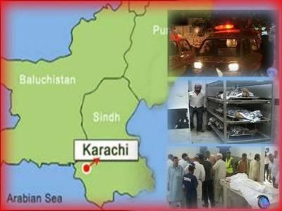 کراچی میں ٹارگٹ کلنگ کے دوران مزید تین افراد کو موت کے گھاٹ اتار دیا گیا۔