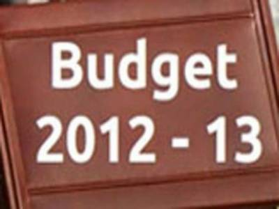 مالی سال دو ہزار بارہ اور تیرہ کیلئے انتیس کھرب ساٹھ ارب روپے کا وفاقی بجٹ پیش کر دیاگیا۔ بجٹ خسارہ ایک ہزار ایک سو پچاسی ارب ، ایک لاکھ نئی نوکریاں،تنخواہوں اور پینشن میں بیس فیصد اضافہ .