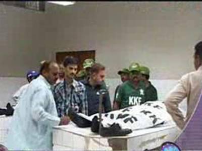 کراچی میں ٹارگٹ کلنگ اور پرتشدد کارروائیوں کا سلسلہ بدستور جاری، دو پولیس اہلکاروں سمیت چھ افراد کوقتل۔