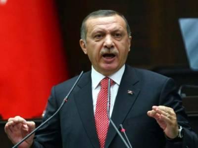 ترکی نے شام کو دھمکی دی ہے کہ ترک سرحد پر شامی افواج کی موجودگی کو جنگ کا اعلان سمجھا جائے گا،ترکی کے دانشمندانہ رویے کو کمزوری نہ سمجھا جائے۔