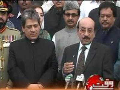 جمہوریت اورآئینی حکومت کے لیئے ہرپارٹی سے اتحاد ضروری ہے اورقائداعظم کا بھی یہی مشن تھا۔ وزیراعلی سندھ