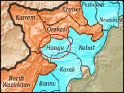 ہنگو کے علاقے وسطی کرم میں بارودی سرنگ کے دھماکے سے ایک اہلکارشہید اورچودہ زخمی ہوگئے۔