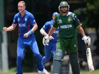 پاکستانی کرکٹ ٹیم کودوسرے وارم اپ میچ میں انگلینڈ کے ہاتھوں پندرہ رنزسے شکست ہوگئی۔