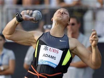 لندن اولمپکس میں شاٹ پٹ ایونٹ میں خاتون فاتح کھلاڑی ویلاری ایڈمز کو چوالیس روز بعد بالآخر گولڈ میڈل دیدیا گیا۔