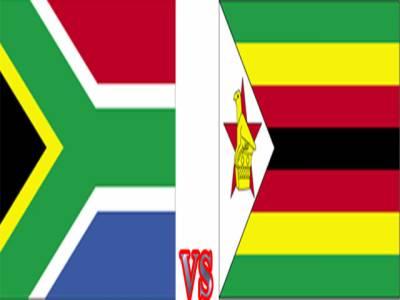 ٹی ٹونٹی ورلڈ کپ کے گروپ سی میں آج جنوبی افریقہ اور زمبابوے کے درمیان مقابلہ ہوگا۔