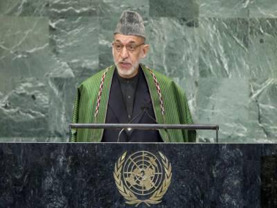 افغان مسئلےکا فوجی حل ممکن نہیں ،افغانستان کےقیام امن کیلئےپاکستان اہم کرداراداکرسکتا ہے۔ صدرحامد کرزئی