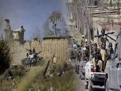 جنوبی وزیرستان: تحصیل توئے خلہ میں اسکاؤٹس قلعہ پر شدت پسندوں نے حملہ کرکے دواہلکاروں کوزخمی کردیا، جوابی کارروائی میں دو شدت پسند مارے گئے۔
