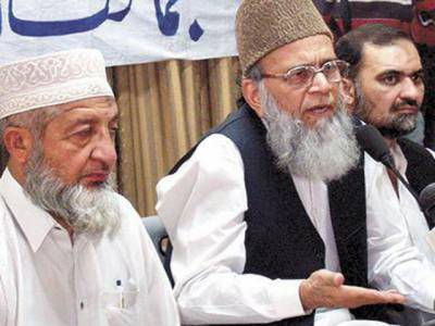 غزہ پر اسرائیلی مظالم کے خلاف مذہبی اور سیاسی رہنماؤں نے بھی شدید رد عمل کا اظہار کرتے ہوئے عالم اسلام سے متحد ہوکر کفر کا مقابلہ کرنے کا مطالبہ کیا ہے۔