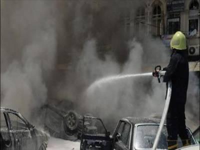 شام کے صوبے حما میں خودکش حملےمیں تیس سےزائد افراد ہلاک ہوگئے۔