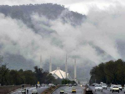 محکمہ موسمیات نے بالائی پنجاب اورخیبرپختونخوا کے کئی علاقوں میں تیزہواؤں اورگرج چمک کے ساتھ مزید بارش کی پیشگوئی کردی۔