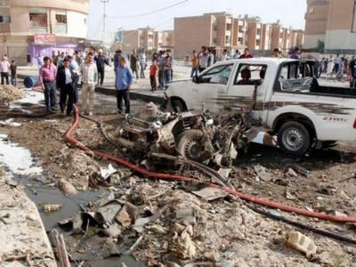 عراق بم دھماکوں سے گونج اٹھا، یکے بعد دیگرے اٹھارہ کاربم دھماکوں میں اکتیس افراد ہلاک جبکہ سینکڑوں زخمی ہوگئے.