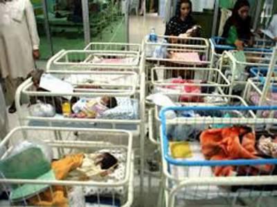 سرگودھا کے ڈی ایچ کیو اسپتال میں ناکافی سہولیات نے ایک اور بچے کی جان لےلی ہلاکتوں کی تعداد اسی ہوگئی