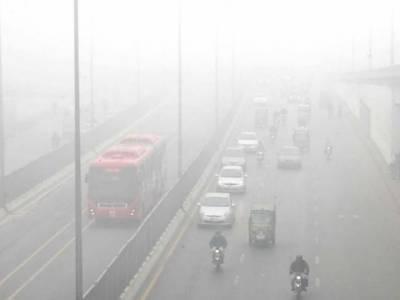 پنجاب کےمیدانی علاقوں میں آج بھی ہرطرف دھند اندھا دھند چھائی رہی،جس سے زندگی معمول پر نہ آسکی
