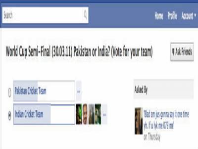 فیس بک پرپاک انڈیا ٹاکرا نوے لاکھ افراد زیربحث لائے
