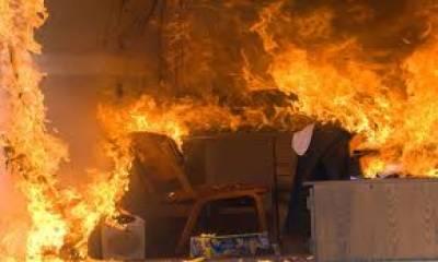 سعودی عرب میں ایک فلیٹ میں آگ کے باعث 5چ پاکستانی جاں بحق