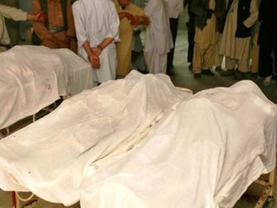 کوئٹہ کے میزان چوک میں نامعلوم افراد کی فائرنگ سے 5 افراد جاں بحق