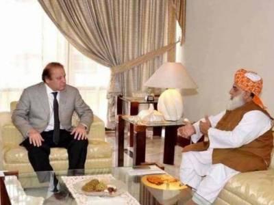 وزیراعظم مولانا فضل الرحمان کی ملاقات, نائن زیرو مذاکرات اورمتحدہ کےمطالبات سے آگاہ کیا