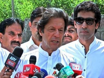 عمران خان کا وزیراعظم نواز شریف کو این اے 122 سے مقابلے کا چیلنج