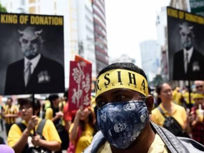 ملائشین وزیر اعظم نجیب عبدالرزاق کیخلاف کوالالمپور میں ہزاروں افراد کا احتجاج , استعفے کا مطالبہ