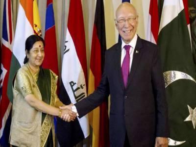 پاک بھارت سیکرٹری خارجہ آئندہ ماہ ملاقات کرینگے ، جامع مذاکرات کی بحالی کیلئےطریقہ کار طے کیا جائےگا