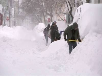 امریکہ:بدترین برفانی طوفان تھم گیا، ہلاکتیں 30 ہوگئیں، ایک ارب ڈالر سے زائد کا نقصان